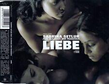 SABRINA SETLUR FEAT. GLASHAUS UND FRANZISKA : LIEBE / CD