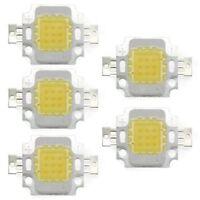 10W 5 Chip LED per Lampada Faretto Luce Bianco 750LM Alta Potenza DIY W1X1