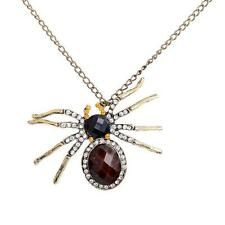 Large Crystal Spider Necklace Pendant Spider Jewelry, Jewl-Spider 2