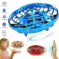 Mini Drone Infrared Sensor UFO Flying Kids Toy Induction Quadcopter Hand Control