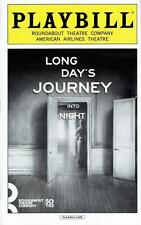 Playbill Long Day's Journey Into Night Jessica Lange Gabriel Byrne OpenNite 2016
