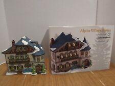 New ListingDept 56 Alpine Village 4020168 Gasthof Mittenwald Hotel Missing Sign