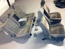 Velour Grey Car and Truck Seat Covers