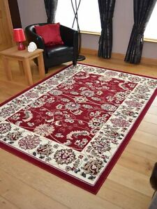 Red Agra Style Traditional Hall Runners Small Extra Large Long Carpets Rugs Mats