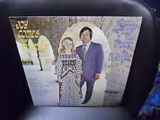 Larry & Tracy White Joy Comes In the Morning LP private press xtian EX SIGNED