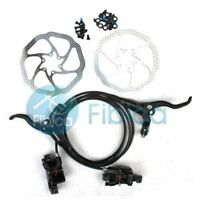 New Shimano BR-BL-M446 M447 Hydraulic Brake set black with Avid HS1 Rotor 160mm