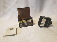 Sunpak Auto 121C Camera Flash Tested Works