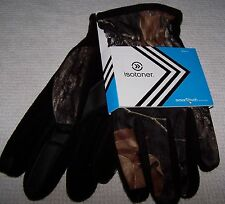 Isotoner SMART TOUCH Gloves CAMO Men's XL ~ NWT $36