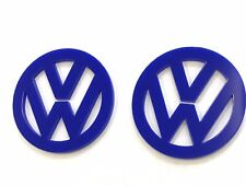 Air Vents Fit VW Beetle 1999/10-2000/09 9C1, 1C1 Dash Vents In Acrylic Pack of 2