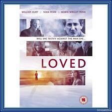 LOVED -  William Hurt & Sean Penn  *BRAND NEW DVD*