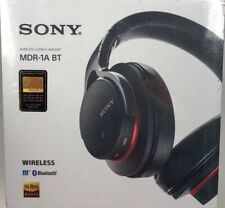 Sony MDR-1ABT Black High-Resolution Audio Bluetooth Headset NFC Japan Import New