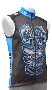 Panache Delirium Racing Thermal Cycling Vest Men SMALL Black Road Bike Mountain