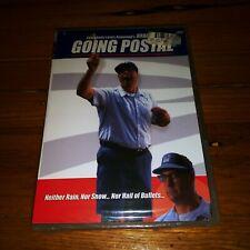 GOING POSTAL DVD, NEW & SEALED, WITH EMMY WINNER BRAD GARRETT, DARK & FUNNY!