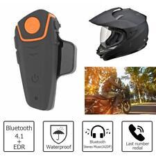 Waterproof 10m Wireless Bluetooth Handsfree Motorcycle Helmet Headset Headphone