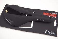 Sillín Fizik PLANEADOR R1 ABIERTO Regular 152mm Trenzado Carbono Negro Mate/