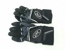 Rawlings Whcsbg-B-91 For Workhorse Batting Glove with Compression Strap, Black