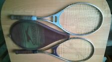 VINTAGE,70s,TWO VERSIONS RACKETS SLAZENGER PANTHER POWER,ONE COVER,BEAUTIFUL