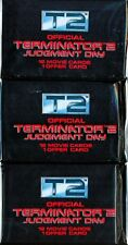TRADING CARDS 3 BOOSTERS TERMINATOR 2 JUDGEMENT DAY