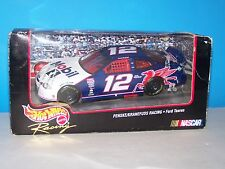 HOT WHEELS RACING NASCAR MOBIL1 #12 JEREMY MAYFIELD 1998 1:24 MATTEL  MIB
