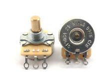 Fender (CTS) Potenciómetro Pote de eje sólido 250K