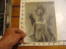 Vintage MARIONETTE PHOTO: ana (diable) FELIX ARANGUREN  photo by M. ZEFF