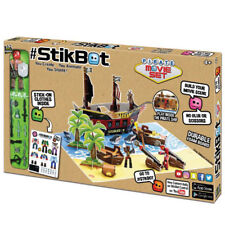 StikBot Pirate Movie Set - Stop Motion Animation App Toy