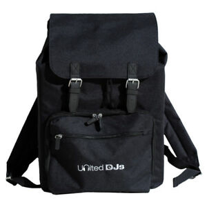 UNITED DJs Record Laptop Backpack / Universal Rucksack can carry 7 & 12s Laptop