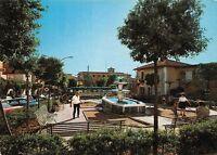 Cartolina Rocca Priora Giardini Pubblici animata Distibutore Eni 1980