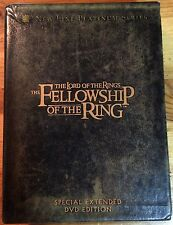 The Lord of the Rings: The Fellowship of the Ring (DVD, 2002, 4-Disc Set)