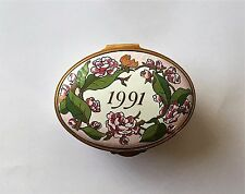 Collectible Enamel Box Made Exclusively for Victorias Secret In England 1991