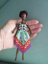 "Vintage Rosemary Rock Flowers Groovy Fashion Doll 6 1/2"" Black African American"