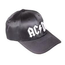 OFFICIAL LICENSED - AC/DC - BACK IN BLACK BASEBALL CAP ANGUS ROCK