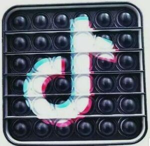 TikTok Push it Bubble Pop Fidget Sensory Toy ADHD Stress Reliever Toys