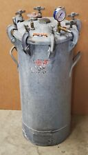 Binks 83 5202 15 Gallon Paint Pot Pressure Vacuum Tank