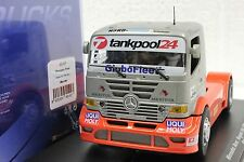 FLY 202103 MERCEDES BENZ SUPER TRUCK ERTC 12' NEW 1/32 SLOT CAR IN DISPLAY CASE
