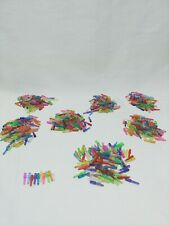 VINTAGE Lite Brite 700 Pegs 1 in  10 different Colors