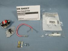 OEM WHIRLPOOL 279816 ELECTRIC DRYER THERMOSTAT FUSE KIT with WP3392519 Fuse