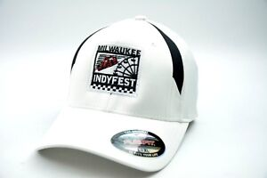 Indycar Milwaukee IndyFest Racing Stretch Fit Event Cap Hat Sizes SM/MED & LG/XL