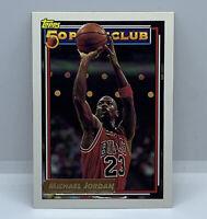 1993 TOPPS GOLD MICHAEL JORDAN 50 POINT CLUB CARD #205