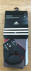 ADIDAS PERFORMANCE OUTDOOR SOCKS - UNISEX SIZE 4.5-6 - ANTI BLISTER - WITH TAGS