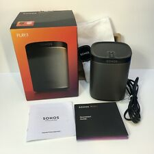 Sonos PLAY:1 Compact Wireless Speaker in Black - Excellent Condition