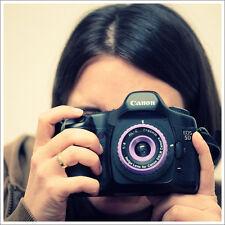 Holga Lens Purple for Canon Rebel T6 T6s T6i T5 SL1 T5i T4i T3i T3 T2i