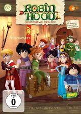 ROBIN HOOD-SCHLITZOHR VON SHERWOOD - (7)DVD Z.TV-SERIE-PRINZENPARTY   DVD NEU