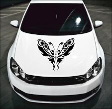 LARGE Tribal Butterfly Car Bonnet Car Vinyl Graphic Sticker Side Panel Decal 46