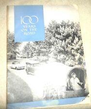 100 YEARS HISTORY OF STUDEBAKER AUTO  WITH ELBERT HUBBARD ADVERTISEMENT 1952