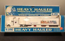 K-Line K-810902TT Burlington Northern Atlanta Heavy Hauler Tractor Trailer DC