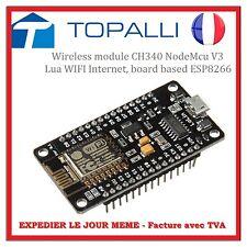 NodeMcu ESP8266 WiFi Plaque de Base WiFi Module Contrôleur pour Arduino TE437