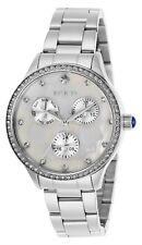 Invicta Women's Wildflower 29090 35mm White Dial Stainless Steel Watch