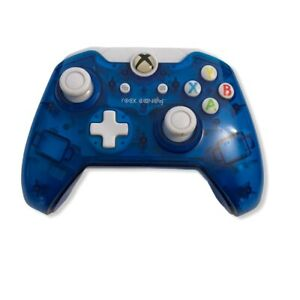 PDP Rock Candy Blue Gamepad Wired Xbox One Controller 048-012 No Cable Included