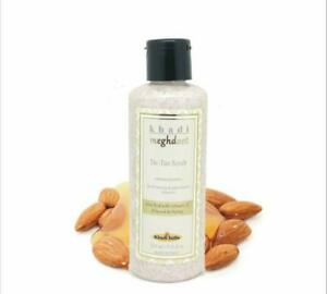 Khadi Meghdoot De Tan Scrub Enriched With Extracts Of Almond & Honey 210 ml